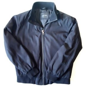 Calvin Klein Bomber Jacket Mens Medium 5 pockets